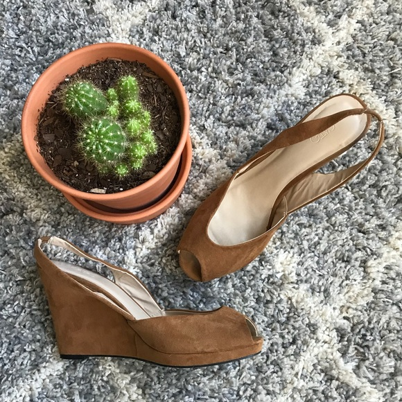 outlet online 100% top quality shades of Cato Shoes | Brand Tan Wedges See Sizing Notes | Poshmark